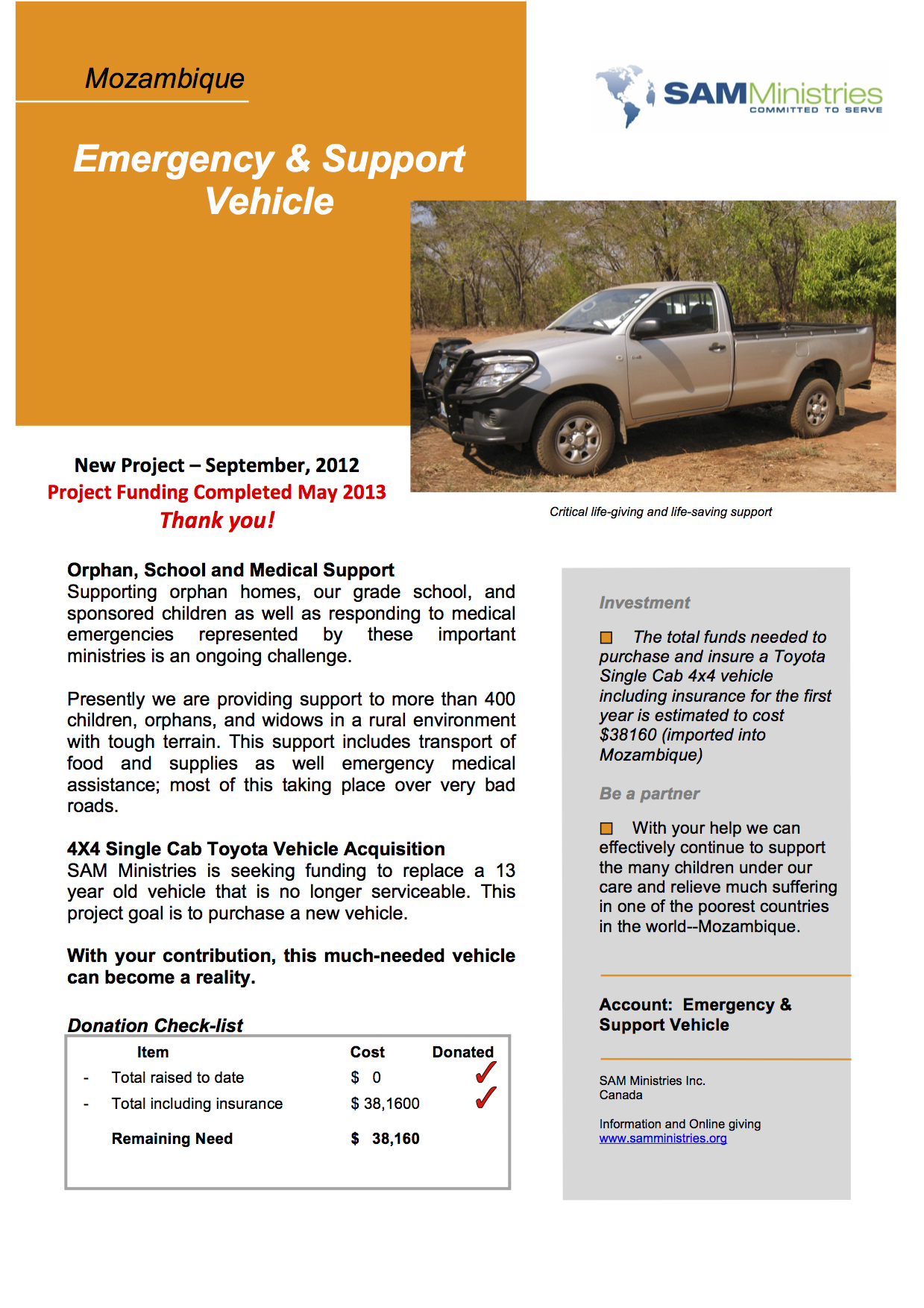 Emergency & Support Vehicle Project Executive Summary-1