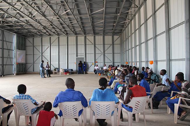 Hangar speeches