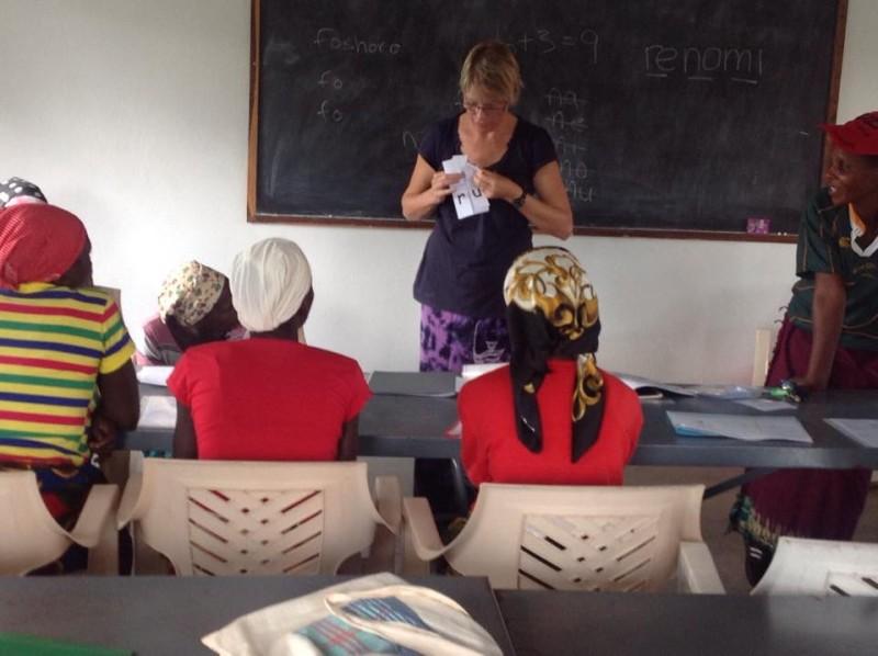 me teaching women