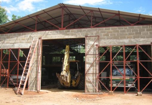 workshop doors going on